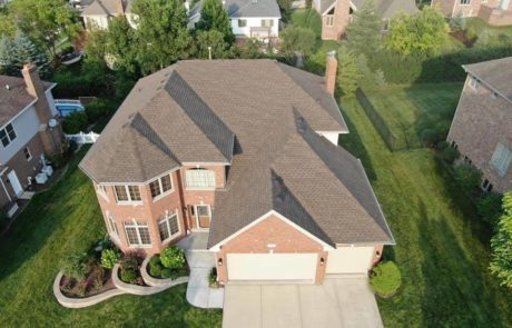 Residential roof completed by Pro Restoration LLC roofing contractor